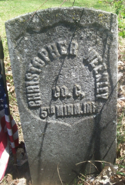 Pvt Josiah Weakly, Co. C - Gravestone